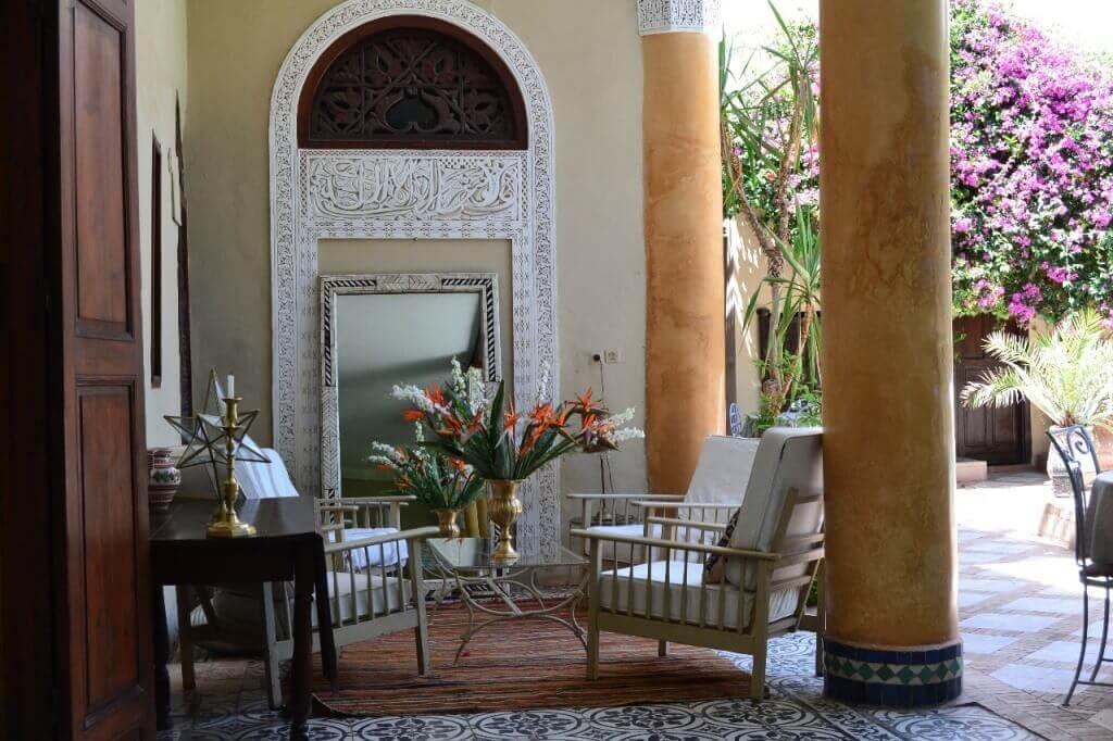 Riad Charles a louer à Marrakech