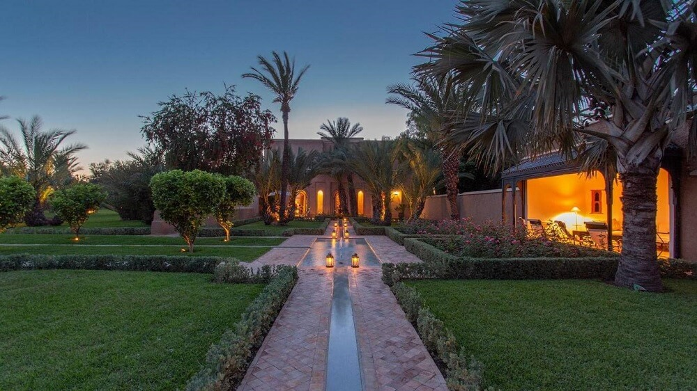 Villa Orchidée a louer à Marrakech